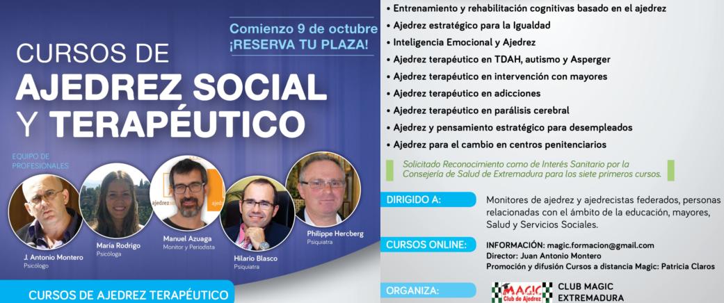 CURSOS DE AJEDREZ SOCIAL Y TERAPEUTICO